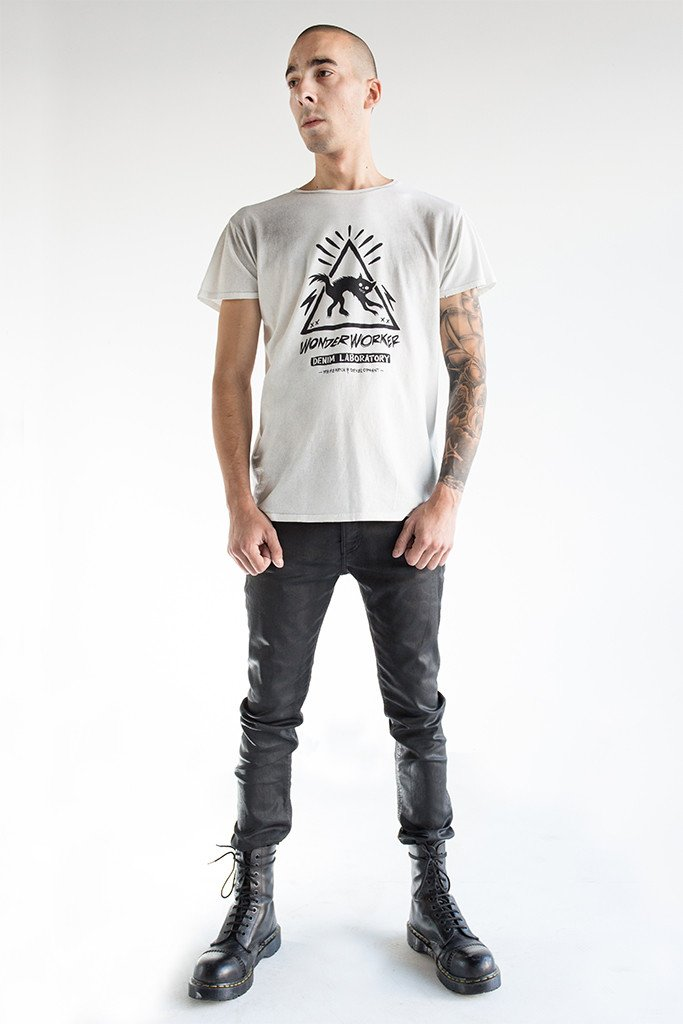 WonderWorker Dusty White T-Shirt