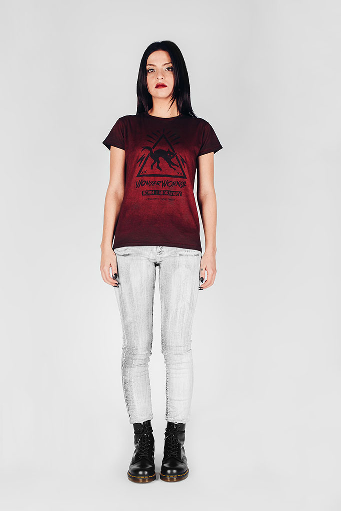 WonderWorker Infernal Ashes Blood Red T-Shirt