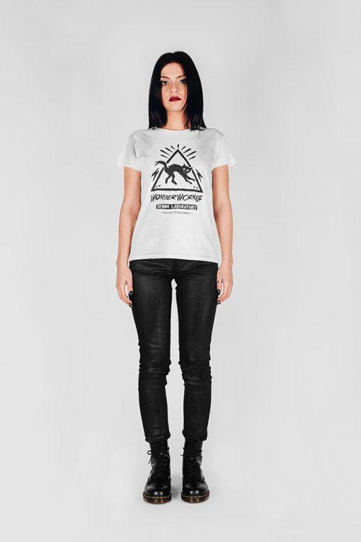 WonderWorker Dusty White T-Shirt
