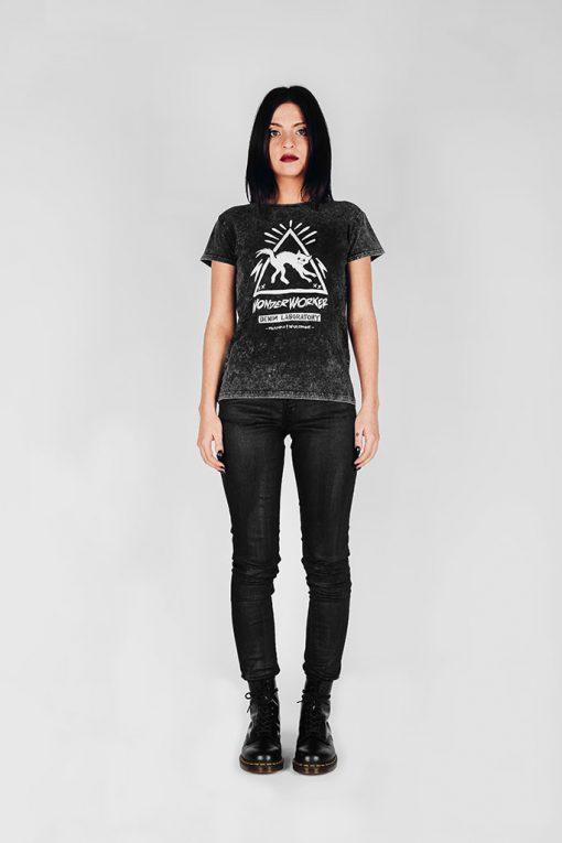 WonderWorker Infernal Ashes Black Brimstone T-Shirt