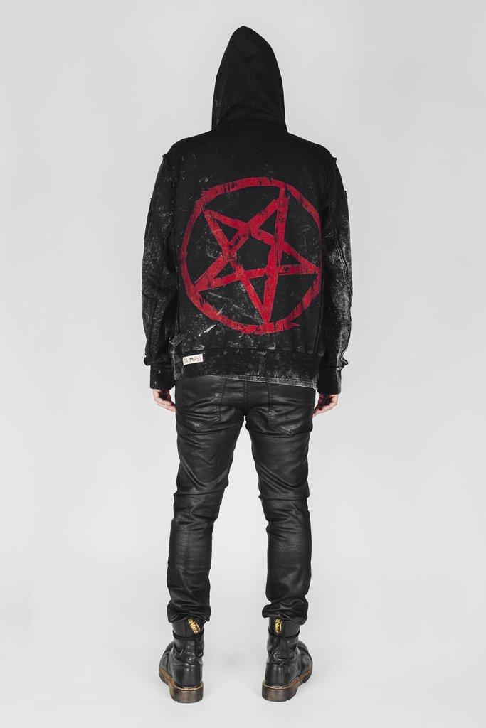 WonderWorker Infernal Ashes Satanist Hoodie